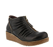 LArtiste by Spring Step Leather Booties- Lifetime - A360136