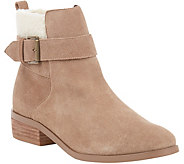 Sole Society Leather Ankle Boots - Austen - A362736