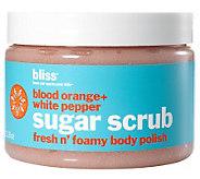 bliss Blood Orange White Pepper Sugar Scrub - A241537