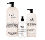 philosophy 3-piece super-size cream favorites bath & body set - A254737