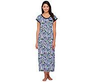 Carole Hochman Petite Ultra Jersey Springtime Nightgown - A262937