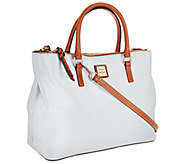 Dooney & Bourke Pebble Leather Willa Satchel - A266037