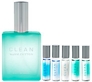 CLEAN Warm Cotton Eau de Parfum & Rollerball Collection - A272937