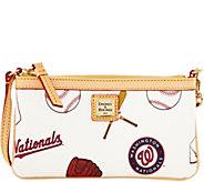 Dooney & Bourke MLB Nationals Large Slim Wristlet - A280137