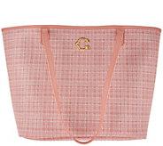 As Is C. Wonder Printed Pebble Leather Open Tote Handbag - A291737