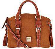 Dooney & Bourke Nubuck Bristol Satchel Handbag - A293537