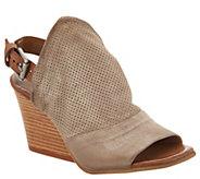 Miz Mooz Leather Wedge Sandals - Kona - A304337