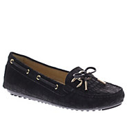 Azura by Spring Step Leather Slip-on Moccasins- Neptune - A334437