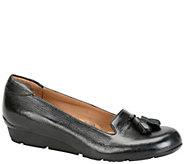 Sofft Tasseled Wedge Loafers - Vespera - A337337