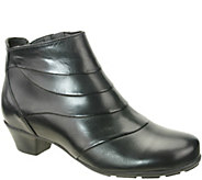Napa Flex by David Tate Leather Booties - Bronx - A341437