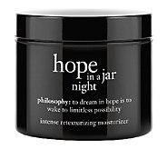 philosophy hope in a jar night moisturizer, 4 oz. - A253138