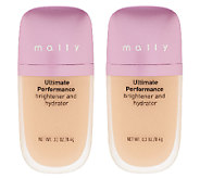Mally Ultimate Performance Brightener & Hydrator Duo - A255638