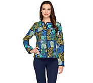 Isaac Mizrahi Live! Special Edition Embroidered Floral Jacket - A262838