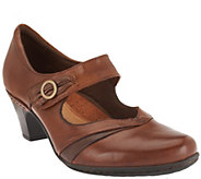 As Is Cobb Hill by New Balance Leather Mary Janes - Salma - A268938