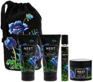 NEST Fragrances Midnight Fleur 4pc Set with Travel Bag