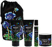 NEST Fragrances Midnight Fleur 4pc Set with Travel Bag - A271938