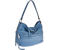 As Is Aimee Kestenberg Kelsy Pebbled Leather Hobo - A274338