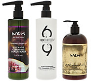 WEN by Chaz Dean Set of 3 Universal Cleansing Cond. - A277038