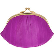 Lee Sands Framed Double Coin Purse with RFID - A282238
