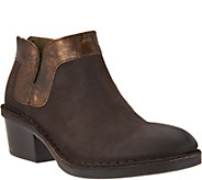 FLY London Leather Ankle Boots - Dias - A287938