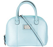 As Is Tignanello Saffiano Leather RFID Domed Satchel - A288938