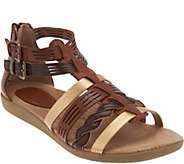 Earth Origins Leather Multi-Strap Sandals - Nicole - A289338