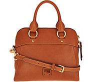 As Is Dooney & Bourke Florentine Satchel Handbag - Cameron - A306238