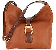 Dooney & Bourke Florentine Crossbody Hobo Handbag - Derby - A309438