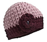 Nirvanna Designs Womens Crochet Flower Hat - A322738