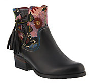Spring Step LArtiste Leather Booties - Live - A360138