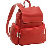 Le Donne Leather Small Backpack - A361238