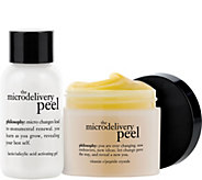 philosophy 2-step vitamin C microdelivery peptidepeel2oz. - A55438
