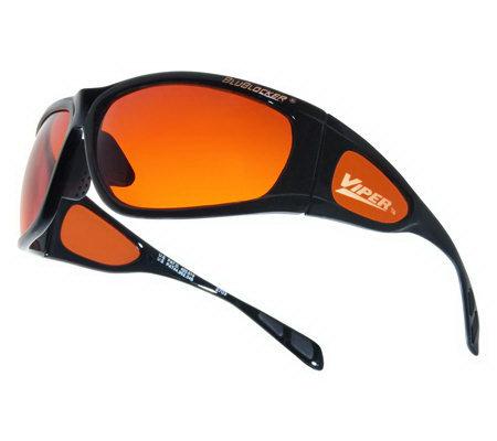 Blublocker Viper Driving Sunglasses Qvc Com