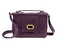 Hobo Florence Leather Simona Top Handle Crossbody Bag with Turnlock - A218239