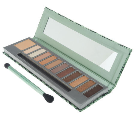 Mally In the Buff 11pc Eyeshadow Palette w/ Eye Base and Brush
