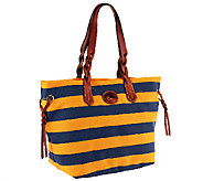 Dooney & Bourke Rugby Nylon Striped Shopper - A254939