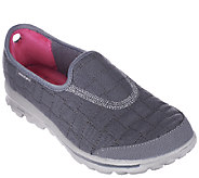 Skechers GOwalk Quilted Slip-on Sneakers - Coziness - A257639