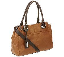 Tignanello Perfect Pockets Pebble Leather Shopper