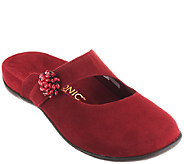 Vionic w/ Orthaheel Orthotic Mary Jane Mules - Joan - A259639