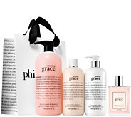philosophy grace & love 4-piece fragrance collection - A278239