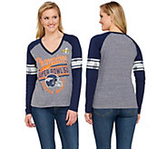 NFL Super Bowl 50 Champions Denver Broncos Womens Long Sleeve T-Shirt - A279839