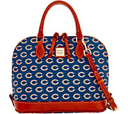 Dooney & Bourke NFL Bears Zip zip Satchel - A285739