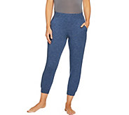 AnyBody Loungewear Cozy Knit French Terry Jogger Pants - A290139