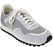 ED Ellen DeGeneres Suede & Fabric Sneakers - Farren 4 - A291039
