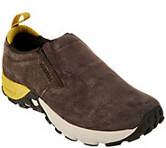 Merrell Suede Slip-on Shoes - Jungle Moc AC  - A294639