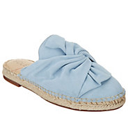 Sole Society Bow Espadrille Slip-Ons - Sammie - A305039