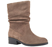 Cougar Waterproof Mid-Shaft Suede Pull-On Boots- Chi Chi - A338939
