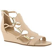 Bella Vita Leather Caged Wedge Sandals - Isla - A339139