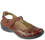 Earth Leather Mary Janes - Pagoda - A339339
