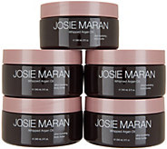 Josie Maran Whipped Argan Body Butters 5-pc Mega Set Auto-Delivery - A344239